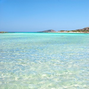 Kréta - azurové moře