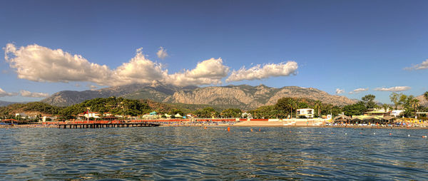 All Clouds Lead to Mt. Tahtali ~ (HDR/Panorama)