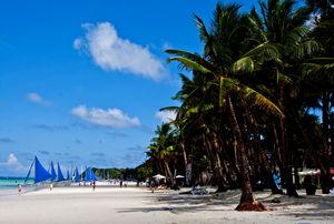 Filipíny - pláž Boracay