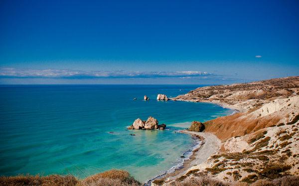 Kypr - moře a pobřeží