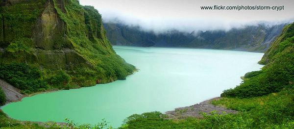 Filipíny - sopka Pinatubo