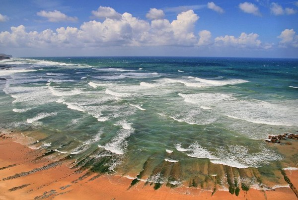 Portugalsko - pobřeží oceánu